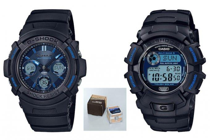G-Shock Fire Package 2021 with AWG-M100SF-1A2JR & GW-2310FB-1B2JR