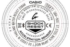 G-Shock G-SQUAD GBA-900 Case Back