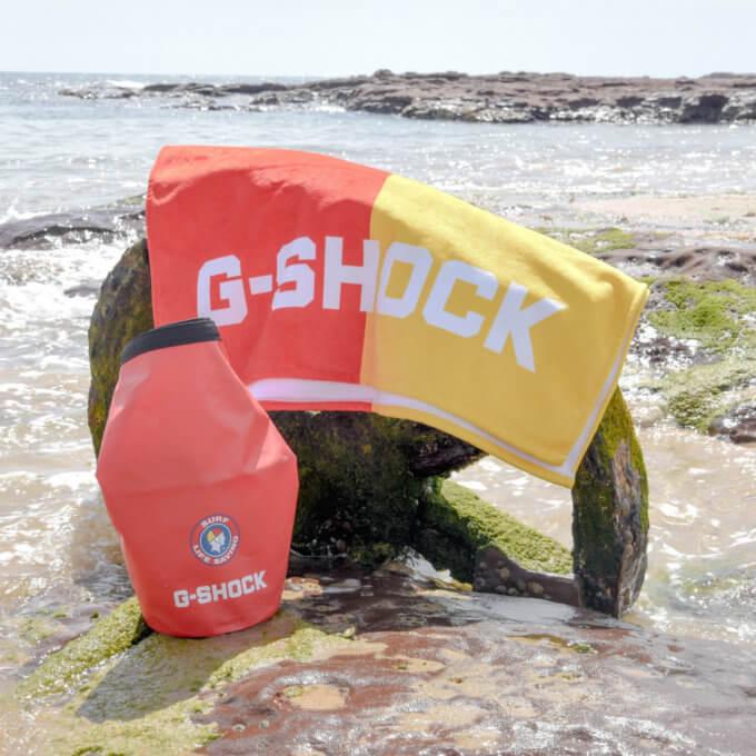 Surf Life Saving Australia (SLSA) x G-Shock GLX5600SLSVIP with Dry Bag and Towel