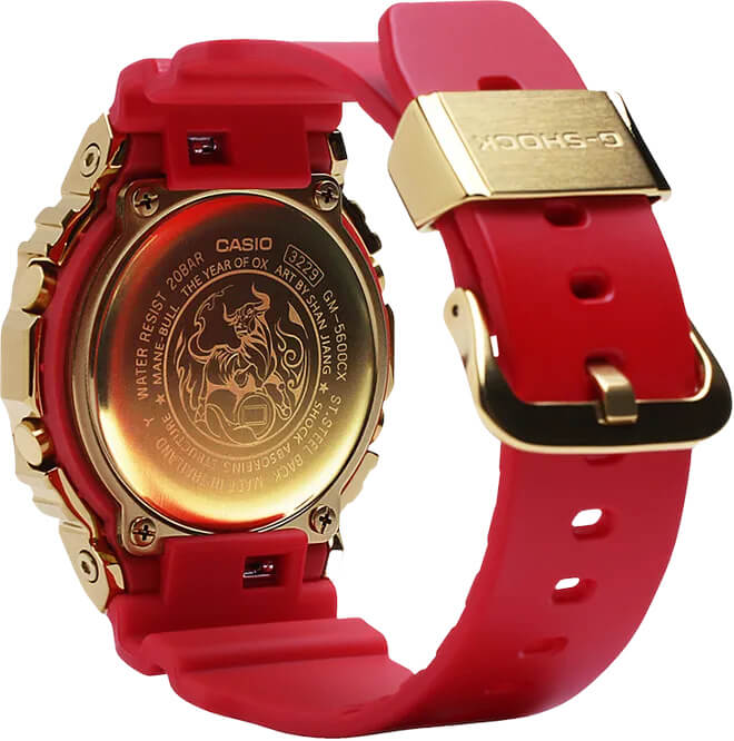 G-Shock GM5600CX-4 Chinese New Year 2021 Case Back