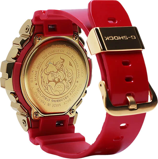 G-Shock GM6900CX-4 New Year 2021 Case Back