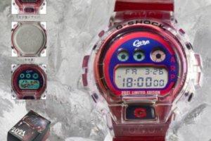 Hiroshima Toyo Carp x G-Shock DW-6900 for 2021
