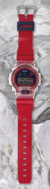 Hiroshima Toyo Carp x G-Shock DW-6900 for 2021 Band
