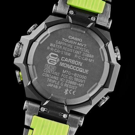 Sankuanz x G-Shock MTG-B2000SKZ-1A Case Back