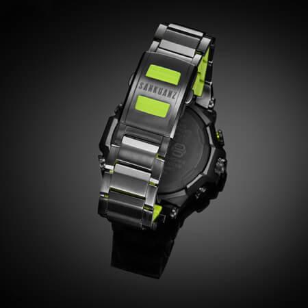 Sankuanz x G-Shock MTG-B2000SKZ-1A Rear