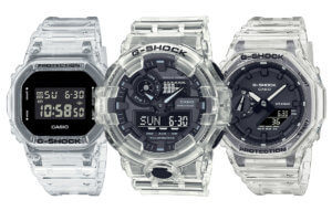 G-Shock Transparent Pack: 5 watches incl. GA-2100SKE-7A