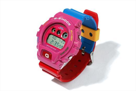 A Bathing Ape (BAPE) x Kid Cudi x G-Shock DW-6900 Angle