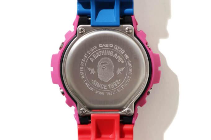 A Bathing Ape (BAPE) x Kid Cudi x G-Shock DW-6900 Case Back