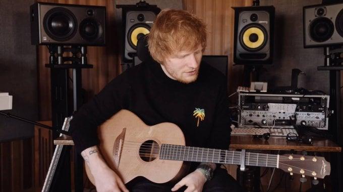 Ed Sheeran wearing G-Shock DW-6900 (DW6900JM20-8) in Afterglow Acoustic Music Video