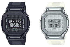 G-Shock GM-S5600SB-1 and GM-S5600SK-7