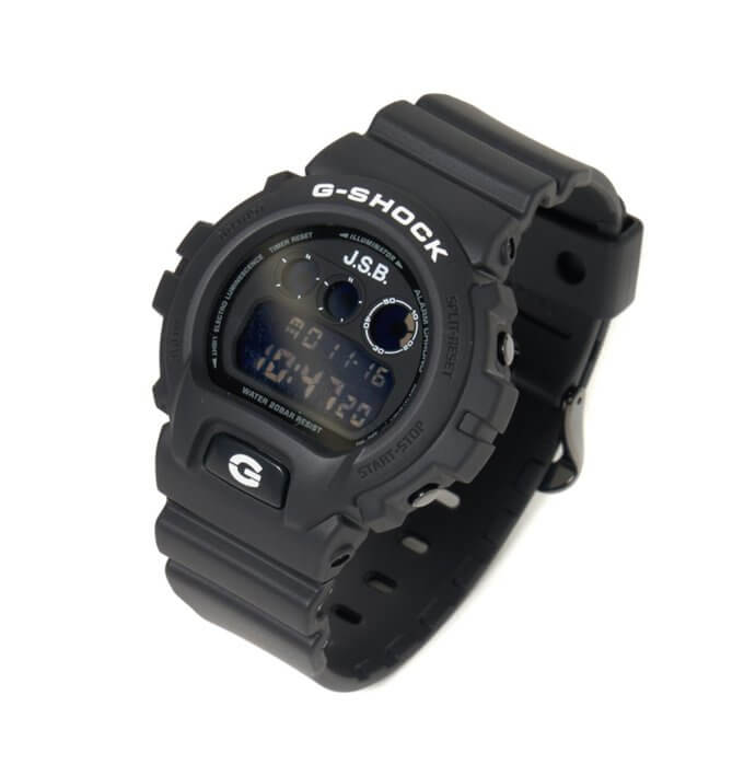 J.S.B. x G-Shock DW-6900 Collaboration for 2021
