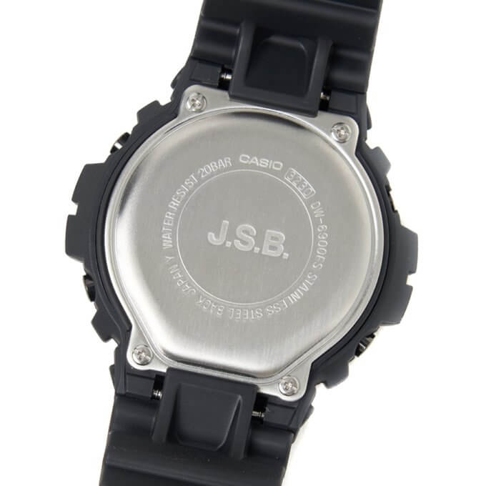 J.S.B. x G-Shock DW-6900 Collaboration for 2021 Case Back