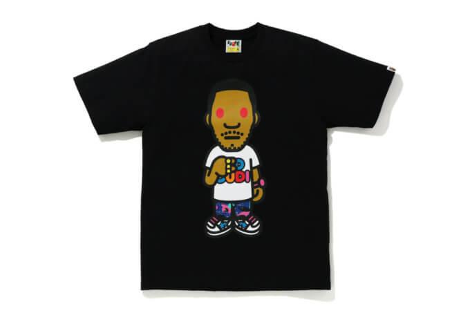 BAPE x Kid Cudi x G-Shock T-Shirt