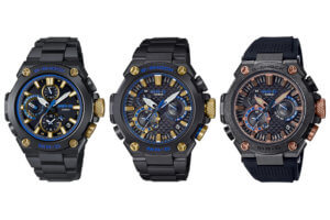 G-Shock MR-G for 2021: MRG-B1000BA-1A, MRG-B2000B-1A, MRG-B2000R-1A