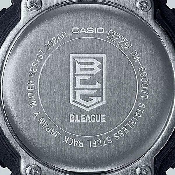 B.League x G-Shock DW-5600 Collaboration for 2021 Case Back