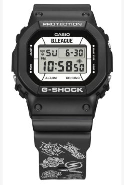 B.League x G-Shock DW-5600 Collaboration for 2021 Watch