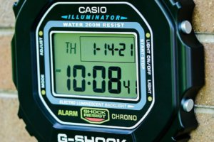 G-Shock Wall Clock DW-5600