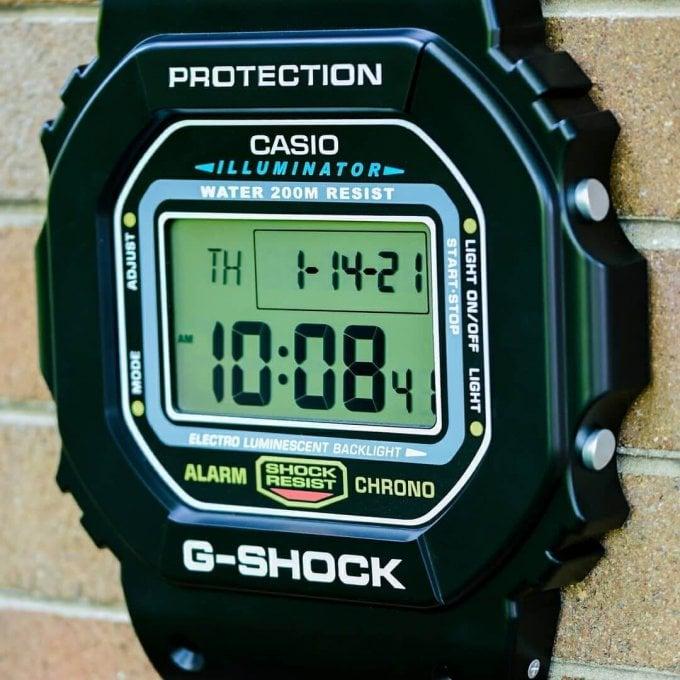 G-Shock Wall Clock DW-5600