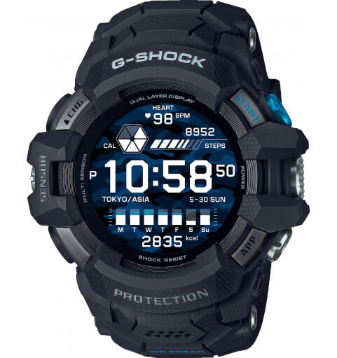 G-SHOCK GSW-H1000 WEAR OS SMARTWATCH WITH 200 METER WATER RESISTANCE