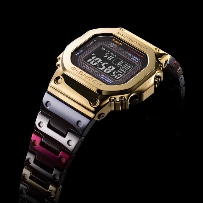 G-Shock GMW-B5000TR TranTixxii Titanium Display Angle Display