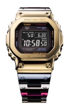 G-Shock GMW-B5000TR TranTixxii Titanium Display