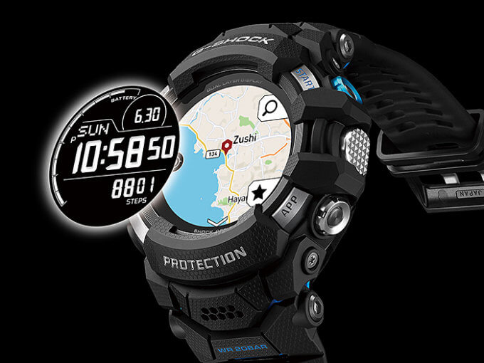 G-Shock GSW-H1000 Dual-Layer Display