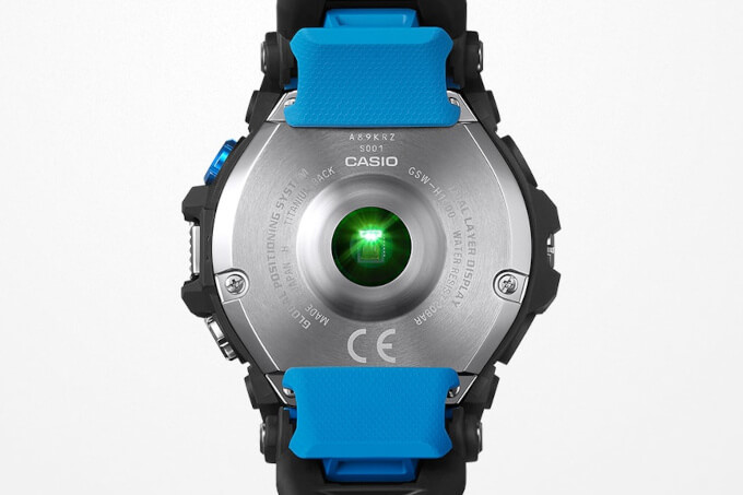 G-SHOCK GSW-H1000 OPTICAL HEART RATE MONITOR