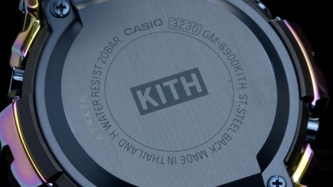 KITH x G-Shock GM-6900 2021 Case Back