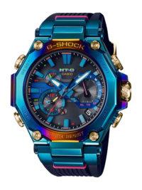 G-SHOCK MTG-B2000PH-2A Blue Phoenix with Rainbow IP