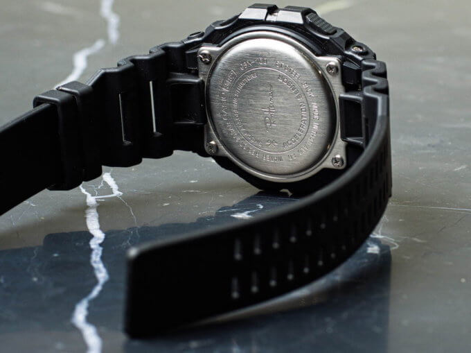 Ron Herman x G-Shock GBX-100 Collaboration for 2021 Case Back