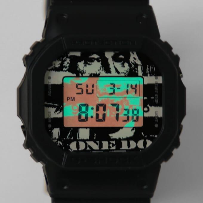Beams T x Kosuke Kawamura x G-Shock DW-5600 EL Backlight