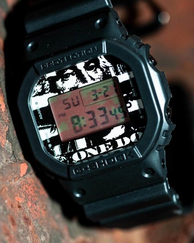 Beams T x Kosuke Kawamura x G-Shock DW-5600 Candid Shot