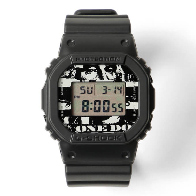 Beams T x Kosuke Kawamura x G-Shock DW-5600 Collaboration Watch