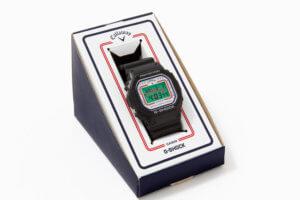 Callaway x G-Shock DW-5600 Box