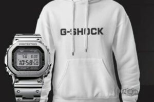 G-Shock Hoodie Sweatshirt Giveaway by Casio Spain