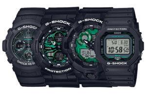 G-Shock Metallic Green Series