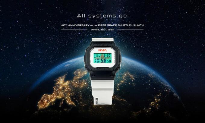 NASA x G-Shock DW5600NASA21-1