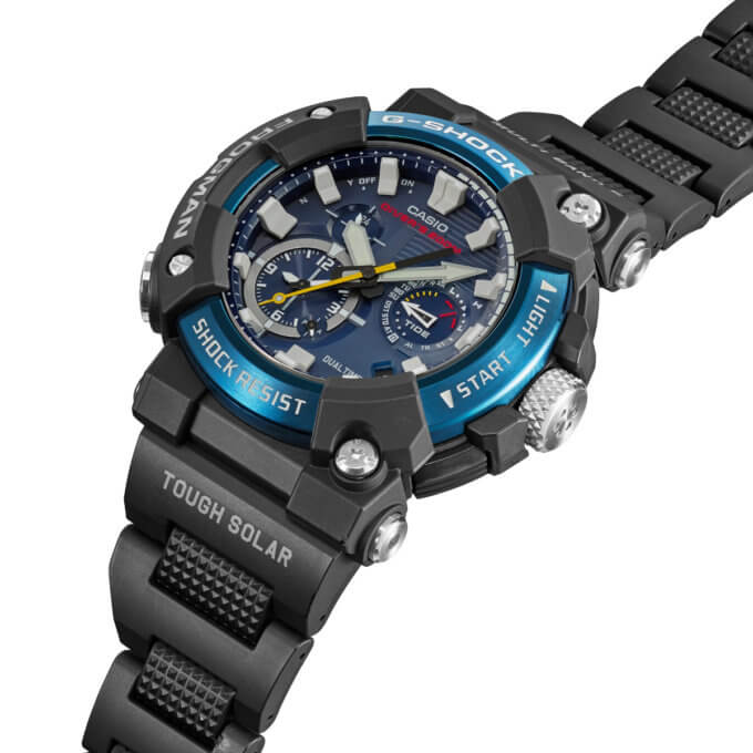 G-Shock Frogman GWF-A1000C-1A Angle
