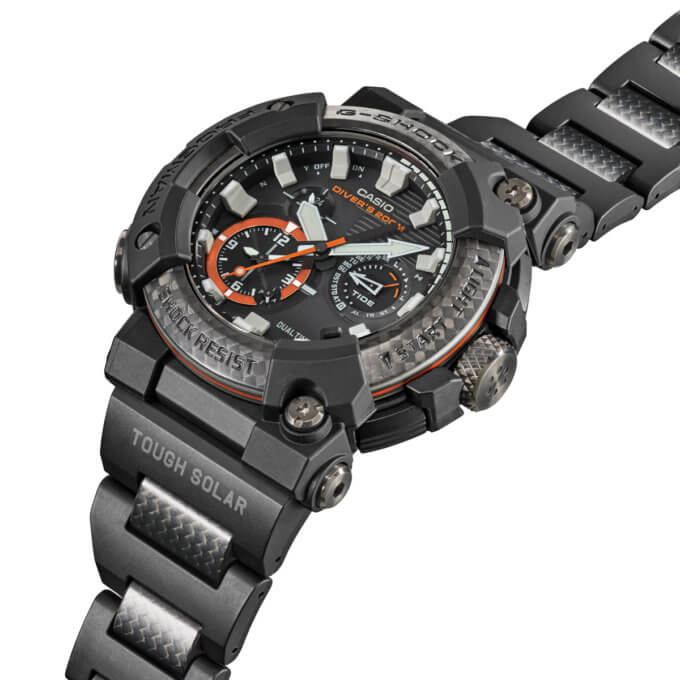 G-Shock Frogman GWF-A1000XC-1A Angle
