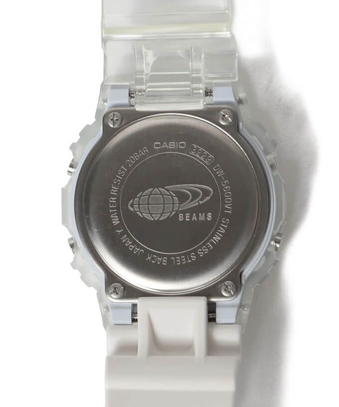 Beams x G-Shock DW-5600 Crazy Pattern 2021 Case Back