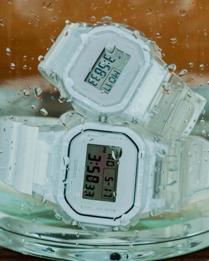 Beams x G-Shock DW-5600 & Baby-G BGD-501 Crazy Pattern
