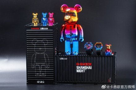 BE@RBRICK x G-Shock Joint Doll Figure