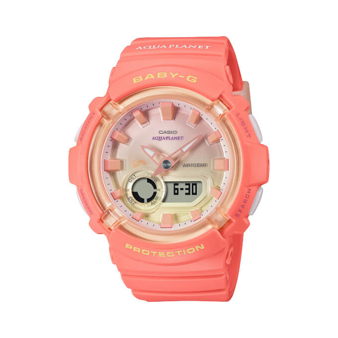 Baby-G x Aqua Planet BGA-280AQ-4AJR Watch