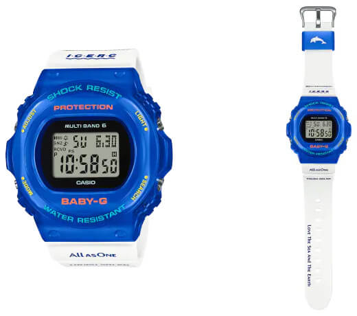 Baby-G BGD-5700UK-2JR ICERC LOVE THE SEA AND THE EARTH 2021