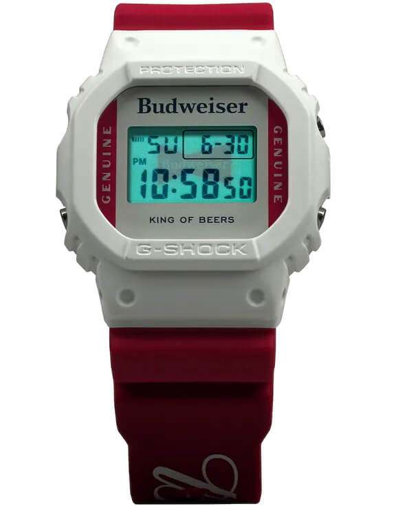 Budweiser x G-Shock DW5600BUD20 EL Backlight