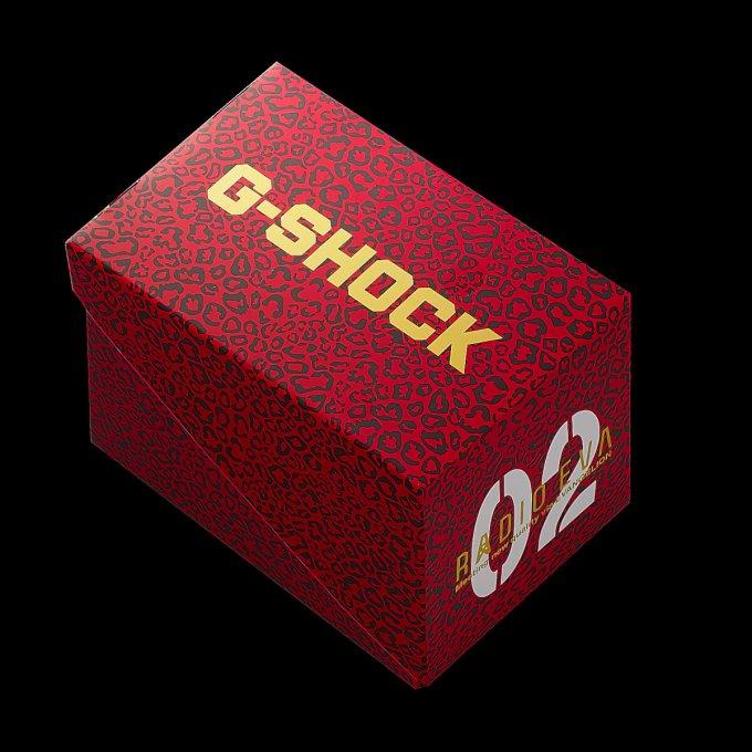 Evangelion  x G-Shock DW-5600 EVA-02 Box