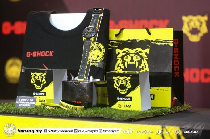 FAM Harimau Malay x G-Shock GA-2000 Collaboration Set