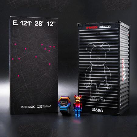 BE@RBRICK x G-Shock GM-110SN-2A & GM-5600SN-1 Box