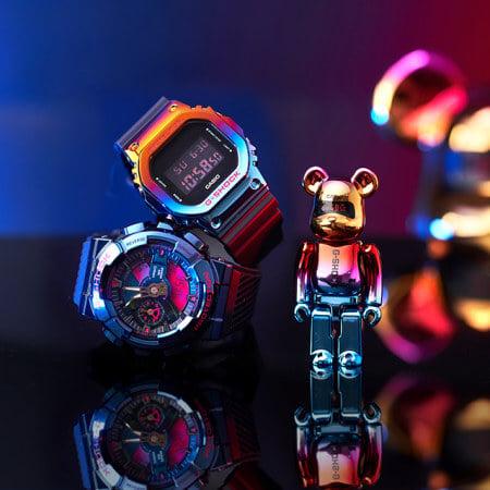 BE@RBRICK x G-Shock GM-110SN-2A & GM-5600SN-1 Shanghai Night