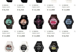 """Many """"G-Shock Mini"""" watches are available in Japan (GMN-500, GMN-550, GMN-691, GMN-692)"""